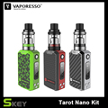 New Arrival Vaporesso Tarot Nano Kit 80W Temperature Control Starter Kit with 2ml VECO Tank Vape E Cig With battery built-in