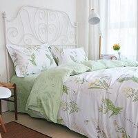WINLIFE элегантные европейские деревенские цветочные постельные принадлежности, нежные потертые стильные постельные комплекты, брендовый 100%