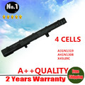 Wholesales New 4 CELLS laptop battery For ASUS X451 X551 X451C X551C X45LI9C  YU12008-13007D YU12125-13002  FREE SHIPPING