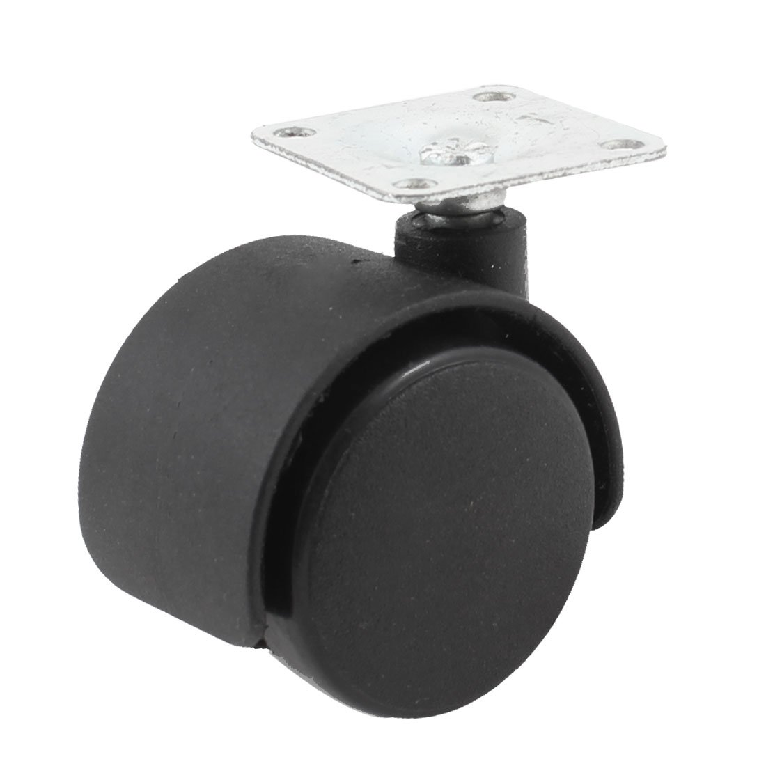 цены 33mm Metal Mounted Plate 38mm Plastic Dual Wheel Rotatable Caster