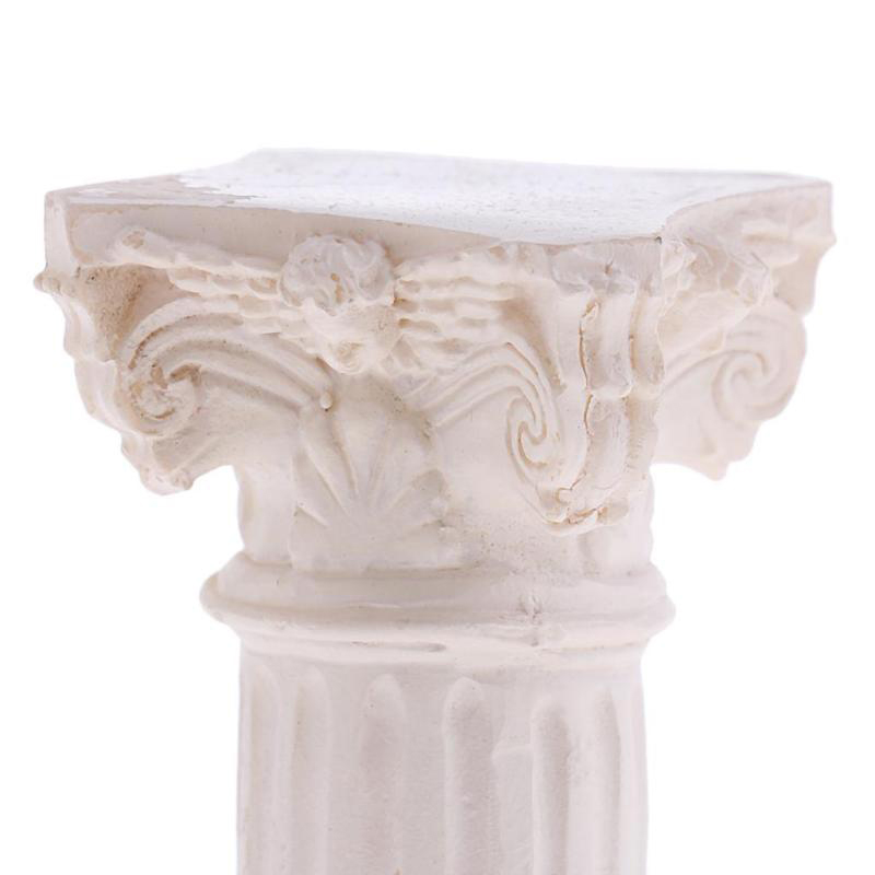 For Garden Diorama Yard Scenery Decor Resin Roman Column Pillar Model Miniature