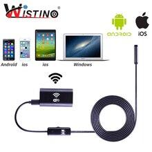 8 мм Wi-Fi эндоскопа мягкая кабель Mini Смартфон Камера Android HD 720P наблюдения трубы Iphone эндоскопа Ip67 инспекции