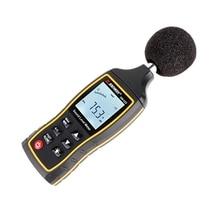 Брендовый цифровой измеритель уровня звука 30~ 130 дБ большой ЖК-децибел шумомер 1,5 дБ портативный измеритель уровня шума Тестер уровня сигнализации магазин данных