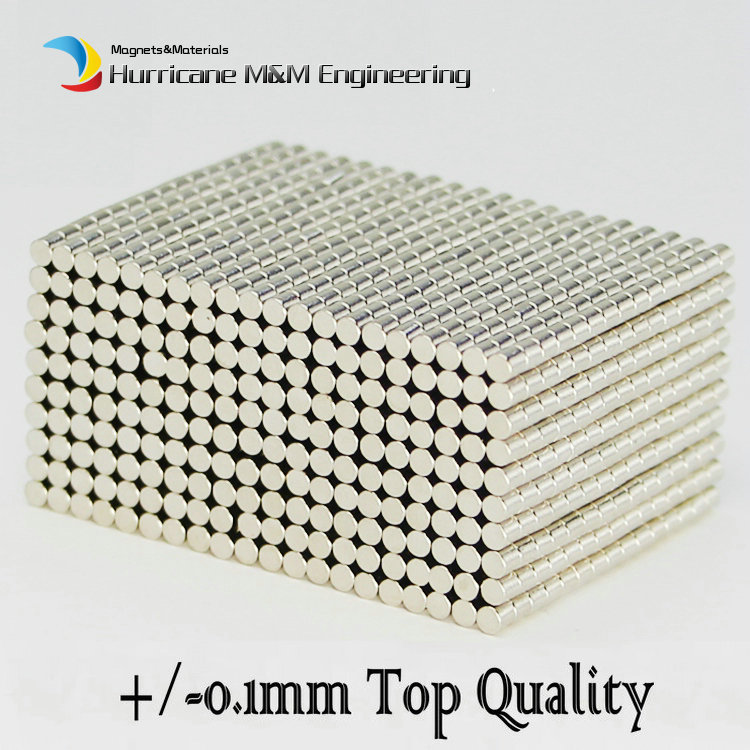 1 pack Grade N42 NdFeB Micro Magnet Disc Diameter 2x2 mm Precision Magnet Neodymium Magnets Sensor Rare Earth Magnets NiCuNi 1 pack grade n38 ndfeb micro ring diameter od 9 5x4x0 95 mm 0 37 strong axially magnetized nicuni coated rare earth magnet