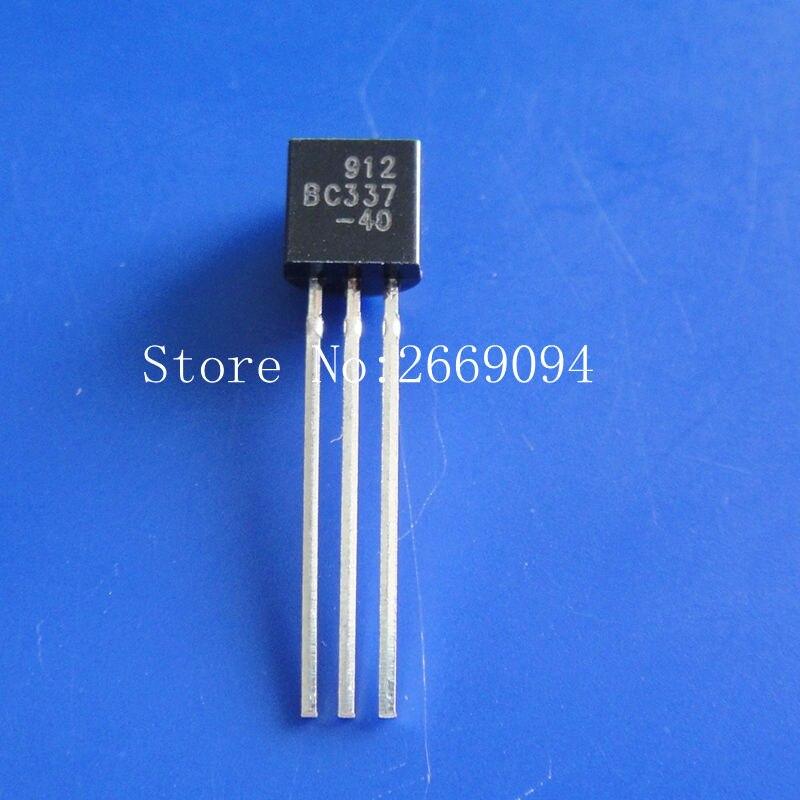 200PCS BC327-40 BC337-40 TO-92 Each  100pcs  PNP NPN Silicon Transistor Small