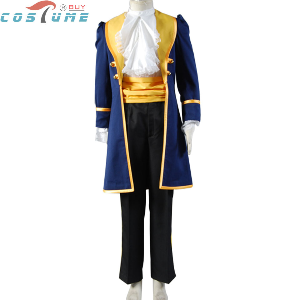 Beauty and the Beast Adult Prince Adam Cosplay Costume For Adult Men Anime Cartoon Halloween Cosplay Costume Custom Made