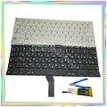 Brand new RU Russo Teclado sem Backlight teclado & parafusos & ferramentas chave de fenda para Macbook Air A1369 A1466 2011-14 Anos