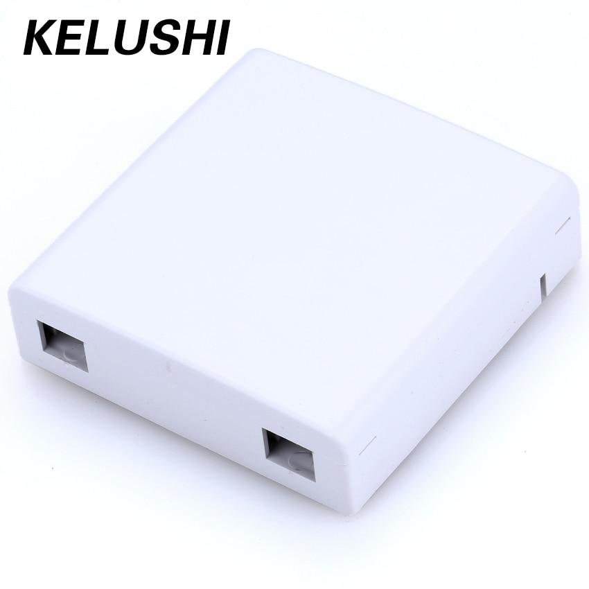 bilder für KELUSHI Kostenloser Versand FTTH 30 teile/lose Faserplatte Faser 0 ptic Anschlussdose 86 Informationen Panels 86 Desktop-Box