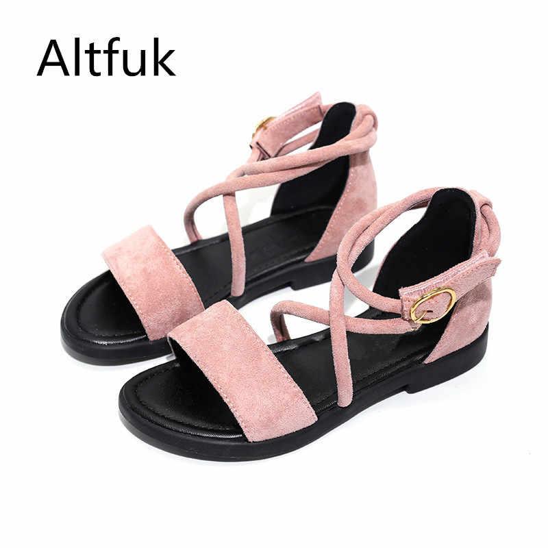Altfuk 26 ~ 37 Малышей Девушки Сандалии Детская Обувь Летом Пляж Дети Для