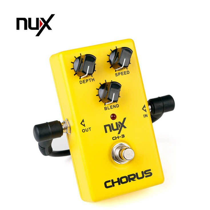 brand new nux ch 3 electric guitar effects chorus stompbox guitar effect stompbox cable in. Black Bedroom Furniture Sets. Home Design Ideas