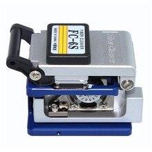 Холодный контакт специальный металлический волоконный Кливер FC-6S нож для резки волокна FTTH Волоконно-оптический кабель резак нож волоконный Кливер инструмент