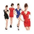 2017 Promotion Sale Freeshipping Polyester Suits Women Formal Blazer Work Wear Summer Short-sleeve Stewardess Uniforms Sauna