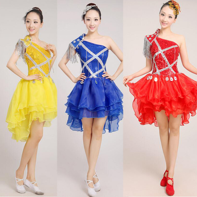 33ee71513 Female Performance dance costumes for women Sequined Hip Hop dance ...