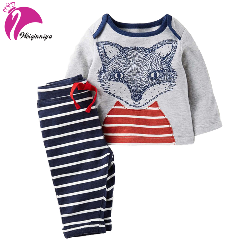 Boys Sets Cartoon Sports Suit For Boy Casual Cotton Long Sleeve+Pants 2Pcs Tracksuit Spring For Boys Toddler Boy Clothes Set Hot