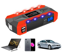 6L Benzin 5L Diesel-80000mWh Auto Starthilfe 1000A Spitzen Auto Batterie Power Pack 12 V Auto Ladegerät Tragbare ausgangs Gerät Bank