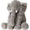 Cartoon 40cm Large Plush Elephant Toy Kids Sleeping Back Cushion stuffed Pillow Elephant Doll Baby Doll Birthday Gift for Kids