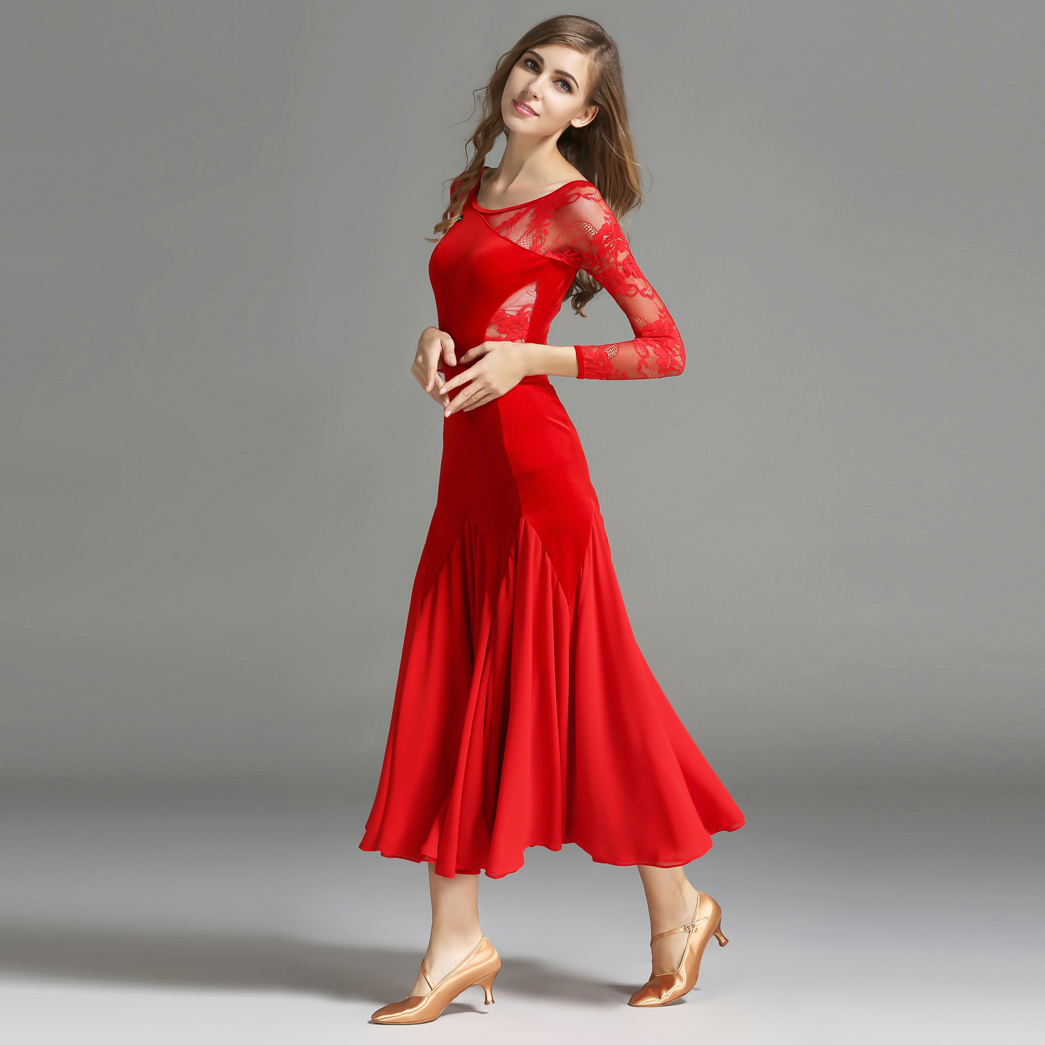 Modern Dance Costume Top and Skirt Suits Dance Dress Ballroom Costume Women Lady Adult Evening Party Dress Practice Clothes 1846 and 1847 latin dance top and skirt suits dance dress ballroom costume leotard women lady adult evening party dress