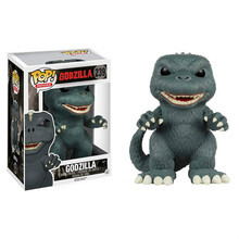 Funko POP Anime Godzilla Dinosaur Collection Model Boy Toys PVC Movie Action Figure Kids Toy new arrival 2017 funko the history of big boy wacky wobbler bobble head pvc action figure desk collection toy doll 7 18cm