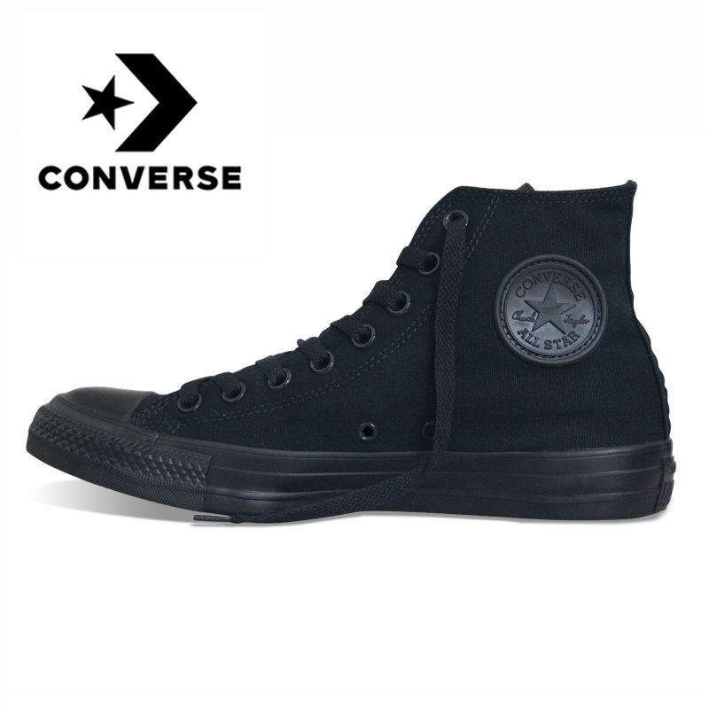 Original authentic Converse all-star canvas shoes high to help classic skateboard shoes outdoor men and women sports shoesOriginal authentic Converse all-star canvas shoes high to help classic skateboard shoes outdoor men and women sports shoes