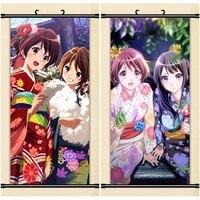 45X95CM Sound Hibike Euphonium Reina Kumiko Hazuki Cartoon Anime Art Wall Picture Mural Scroll Cloth Canvas