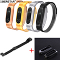 Protective Case Cover Holder + Milanese Magnetic Loop Strap Watchbands For Xiaomi Mi Bands 2 /1A/1S Smart Wristband