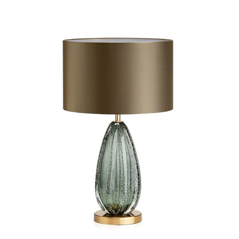 Modern Home Decor Bedroom Table Lamp E27 Stained Dark