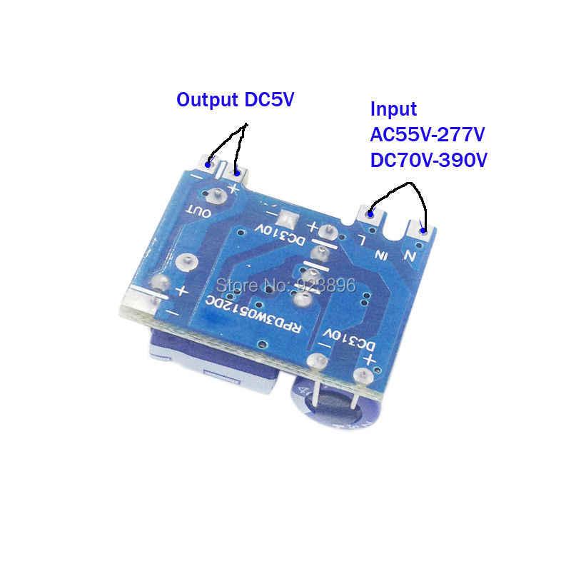 Небольшой объем изолированный импульсный источник питания 5 в модуль точности 5V3W Buck модуль 220 до 5 В переключатель питания