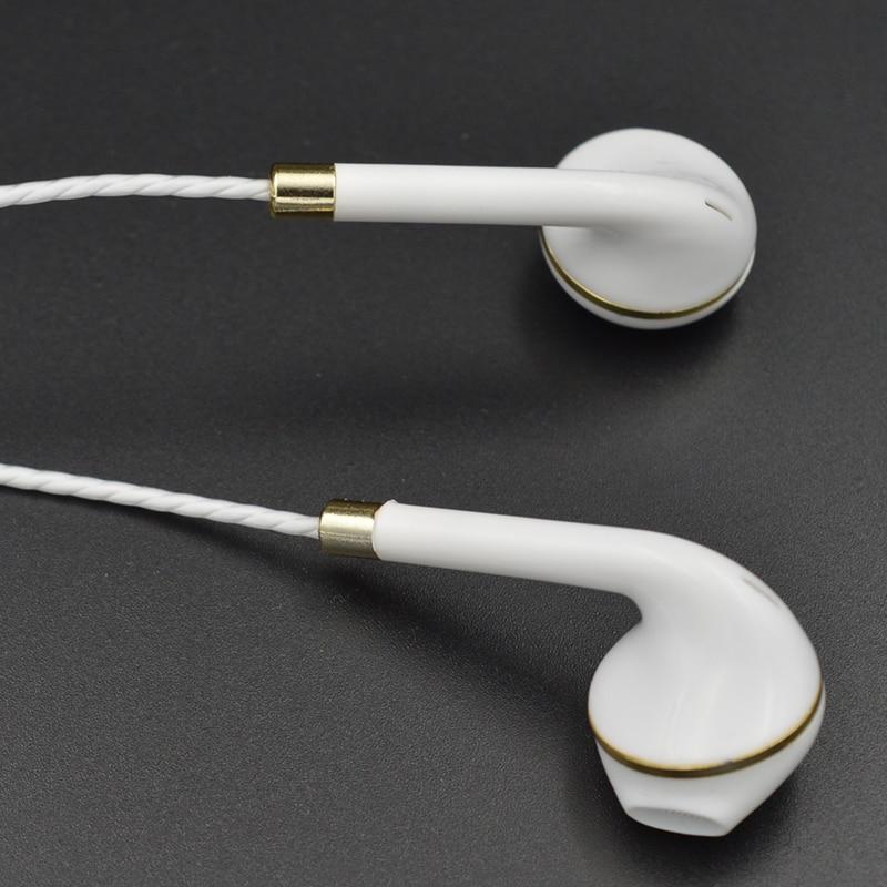 New earphone for apple iPhone 6 5 Samsung Xiaomi With Microphone 3.5mm Jack Bass in Ear fone de ouvido Headset earpods earpiece 2016 original xiaomi hybrid pro earphone in ear headset 3 5mm mi 1 more xiomi piston 4 pro with microphone fone de ouvido