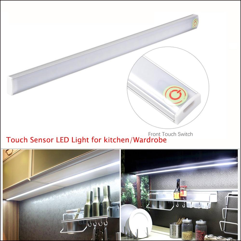 USB LED Touch Sensor Bar Light Lamp For Under Cabinet