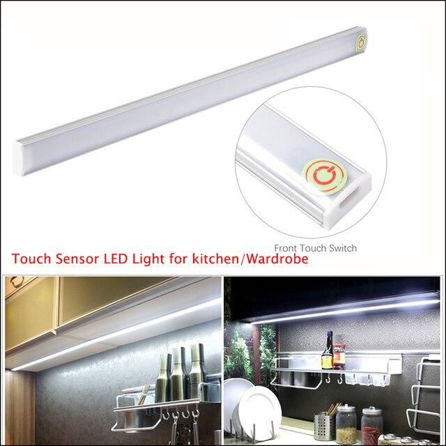 Usb Led Touch Sensor Bar Light Lamp For Under Cabinet Kitchen Wardrobe Lighting
