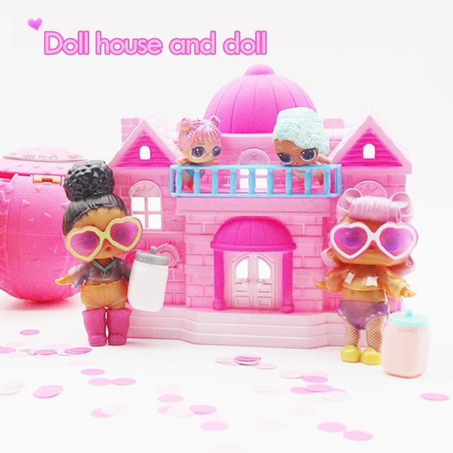 Cute Lol Doll House Sofa Piano Random Furniture Diy Dollhouse Toys
