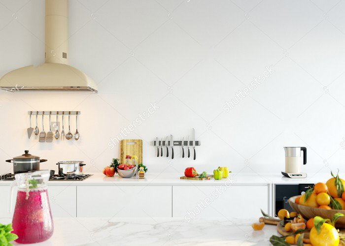 3d Rendering Kitchen Wall photography studio background