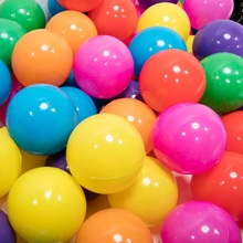 50Pcs 7cm Colorful Ball Fun Toys Baby Kids Soft Plastic PE Air-Filled Ocean Play Balls Pit ToyEnvironment - friendly