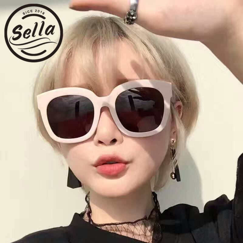 Women/'s White Oversized Sunglasses