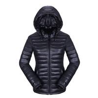 2017 novas mulheres jaqueta de inverno com capuz outono Primavera Casaco Feminino Mulheres Jaqueta casacos de algodão Acolchoado Parkas Casuais Fina