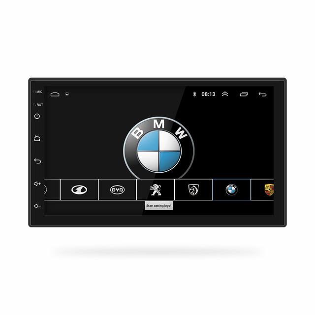 2 Din Car Radio Android 8.0  Universal GPS Navigation Bluetooth Touchscreen Wifi Car Audio Stereo FM USB Car Multimedia MP5