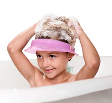 Hands Free Baby  Bath Shower Cap