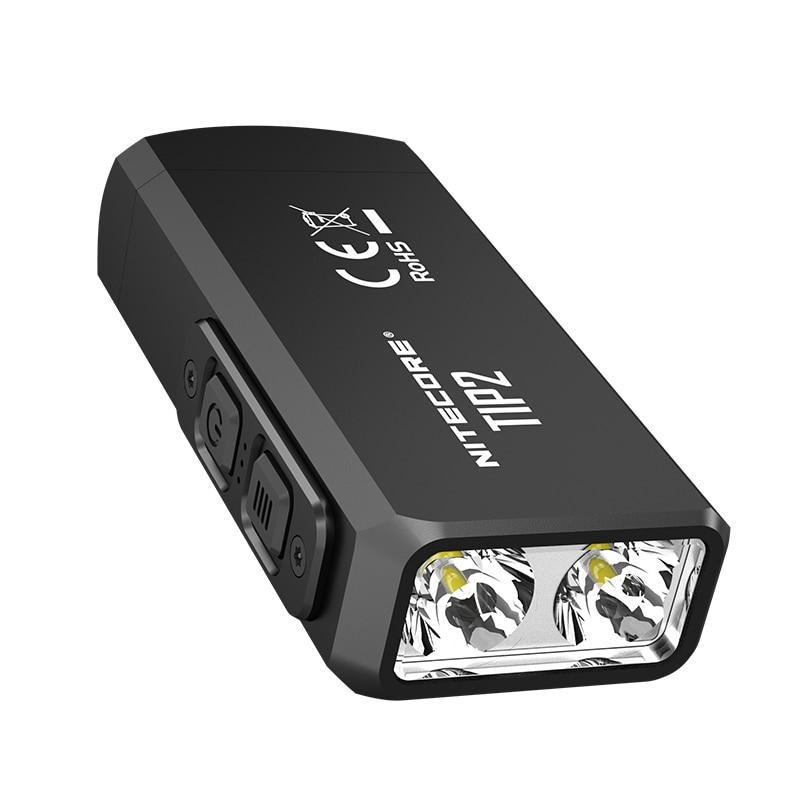 Image 5 - 100% Original Mini Light NITECORE TIP2 CREE XP G3 S3 720 lumen USB Rechargeable Keychain Flashlight with Battery-in LED Flashlights from Lights & Lighting