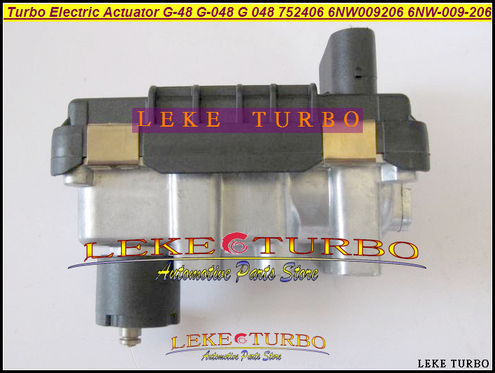 Turbo Electric Actuator G 48 G 048 G48 752406 6NW009206 6NW 009 206 6NW 009 206 Turbocharger Electronic Boost Actuator wastegate