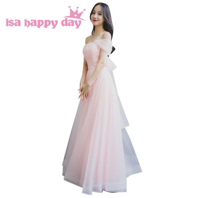 Women Formal Pink Tulle Convertible Wrap Bridesmade Multi Way Puffy