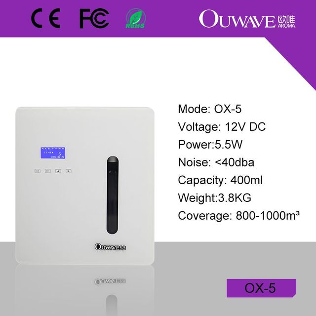 CE,RoHS Certification and Electrical Power Source Scent Air Machine ...