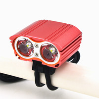 Bicycle Front Bike Light USB XM L T6 3 Modes Waterproof Cycling Light Bicycle Lamp Accessories