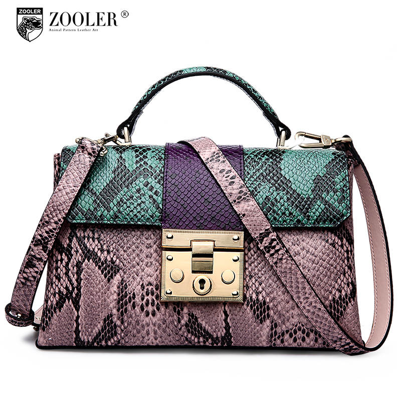 ZOOLER genuine leather Bag Ladies Luxury woman bags bag handbag fashion handbags OL Style quality bag top bolsa feminina #2958 zooler women handbag elegant ol shoulder bag ladies cow leather handbags fashion corssbody bags designer genuine leather handbag