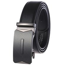 High Quality Automatic Buckle Belts For Man Coffee Leather Designer Man Black Belt Fashion Popular Luxury Belts Male high quality business men belt automatic buckle fashion man real leather belt popular casual male luxury black belts