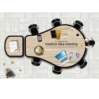 0214TB010 офисная мебель творческий согласования прием конференции Таблица персонализированные обучение настольный конференции, конференц за