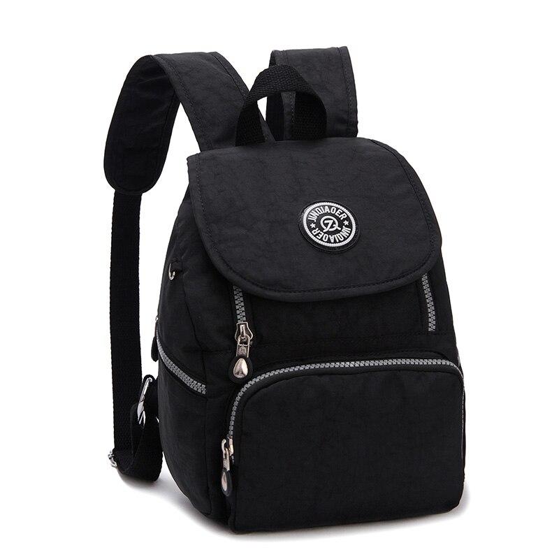 School-Backpacks Mochila Travel Teenage-Girls Waterproof Nylon Casual for Women Female
