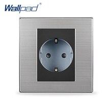 Hot Sale 2 Pin EU Socket Schuko Wallpad Luxury Wall Electric