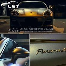 152 см x 30 см золотой песок жемчуг автомобиль wrap виниловой пленки автомобиля внутренней и внешней обертывание лист, рулон автомобиля наклейка