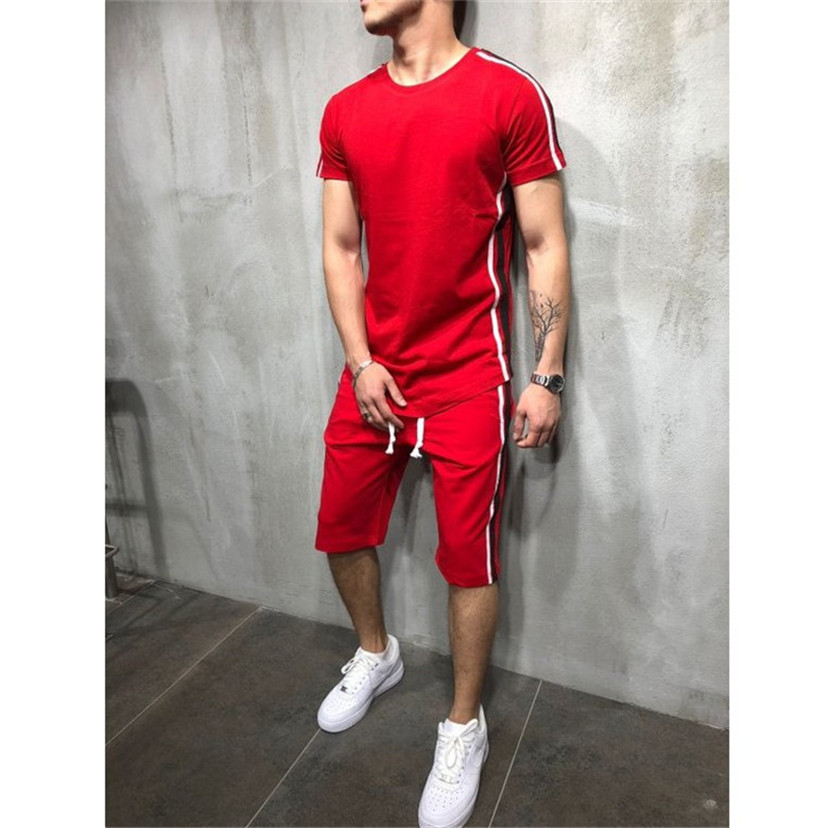 Sports & Entertainment Men Sport Running Sets Basketball Soccer Training Tracksuits Jersey Summer Fitness Sportswear Gym Sports Sets Soccer Jerseys