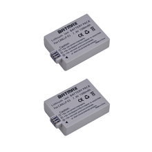 1500mAh LP E5 LPE5 LP E5 Battery 2 pack for Canon EOS Rebel XS Rebel T1i